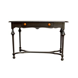 Black Antique Ladies Writing Desk