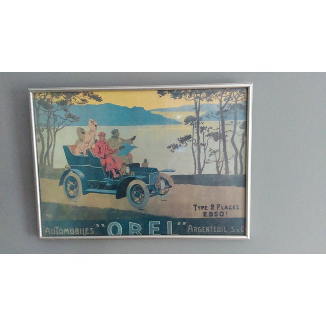 Image of Vintage French Advertisement Poster