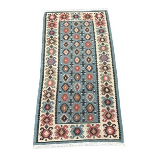 Vintage Turkish Kilim Rug- 2'8'' x 5'1''