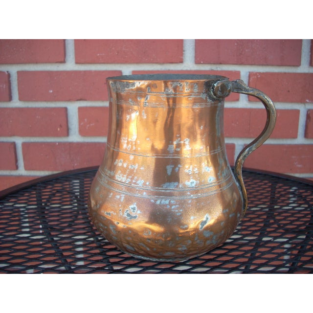 Vintage Copper Plated Jug - Image 2 of 4