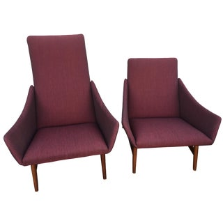 Danish Stingray His & Hers Chairs - A Pair
