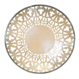 Reticulated Round Nickel Tray