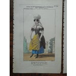Image of Four Antique French Theater/Costume Prints