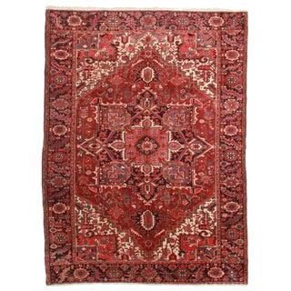 Persian Hariz Wool Rug - 7′9″ × 10′9″