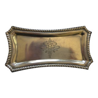 Pewter Presentoir Tray by D.L. & Co.
