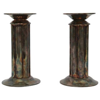 Pair of Richard Meier Candlestick Holders