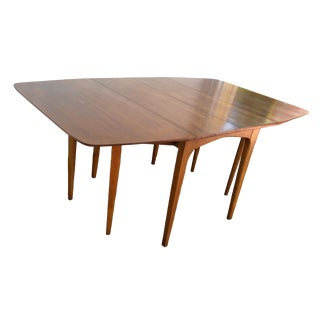 Drexel Profile Walnut Dining Table