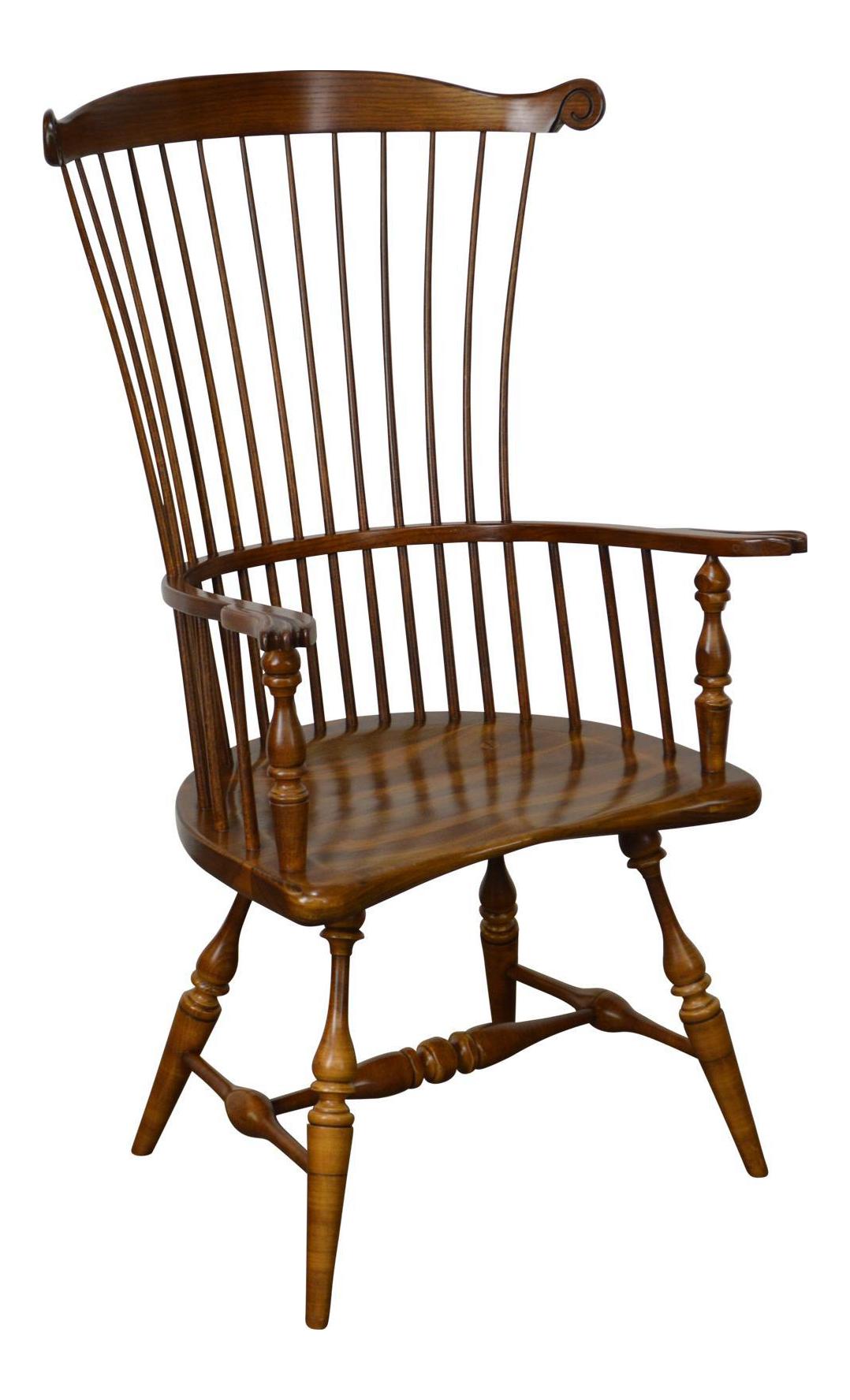 Duckloe 18th Century High Back Windsor Arm Chair