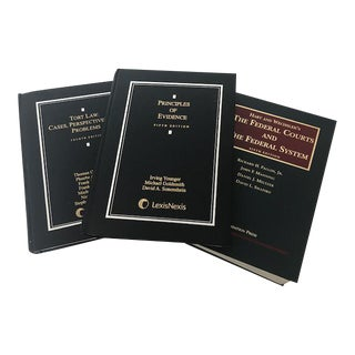 Hard Cover Law Books - Set of 3