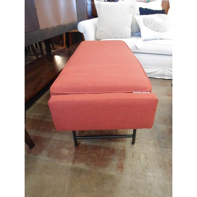 Image of Blu Dot Burnt Orange Bench