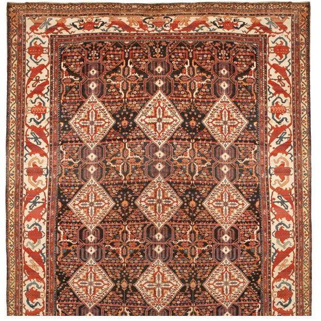 Antique Kurdish Carpet - Image 1 of 1