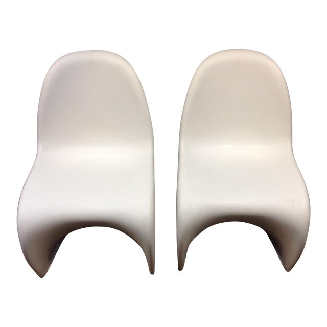 Verner panton stuhl chairs a pair chairish for Panton stuhl replik