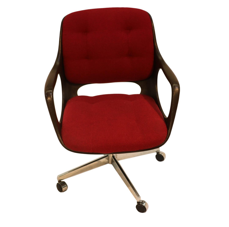 Chromecraft Mid Century Modern Herman Miller Style Office Chair   Image 2  Of 10
