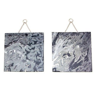 Abstract Painting - Set in Stone - A Pair