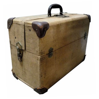 Antique Steamer Suitcase