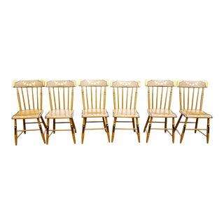 19th Century Country Windsor Chairs - Set of 6