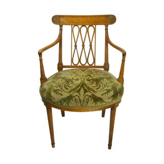 Neoclassical Gustavian-Style Armchair