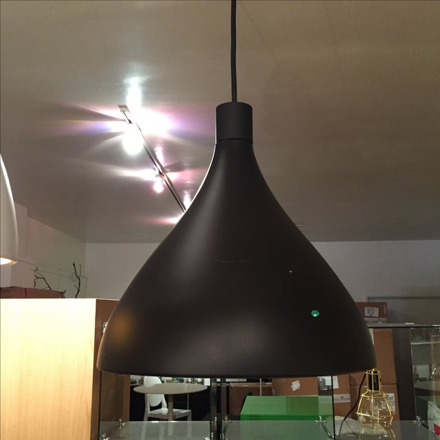 Black & Gold Pendant Light Fixture - Image 3 of 6