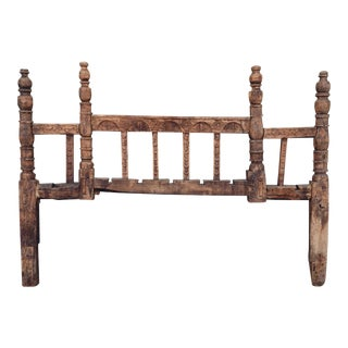 Antique Rustic Distressed Boho Headboard