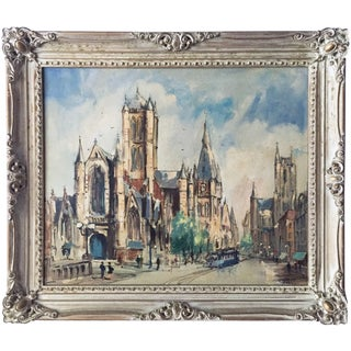 Saint Bavo Cathedral Oil Painting