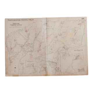 Vintage Hopkins Map of Town of North Castle