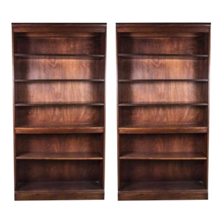 Hickory Chair Furniture Company Bookcases - a Pair