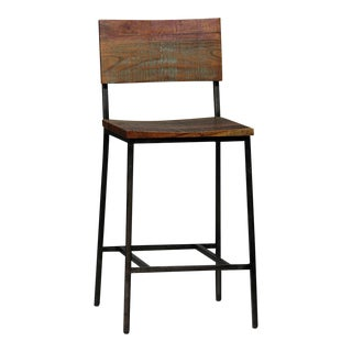 Reclaimed Wood Counter Stool