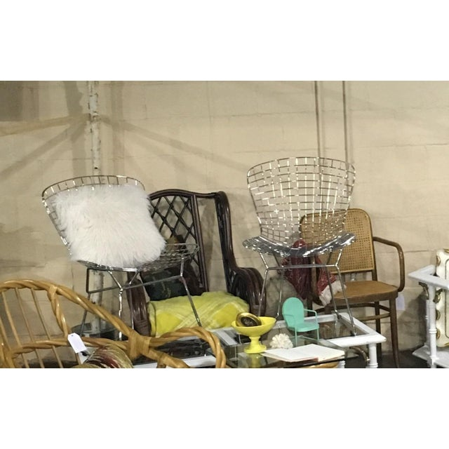 Bertoia Style Chairs - A Pair - Image 3 of 3