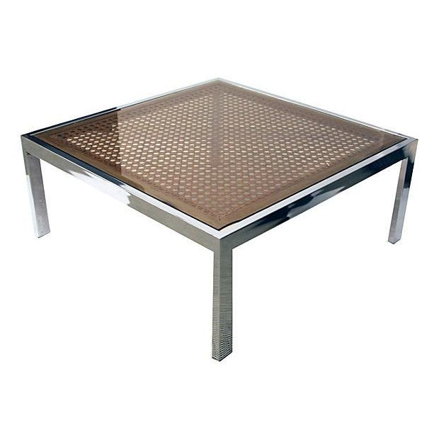 Chrome Coffee Table by Milo Baughman - Image 4 of 5
