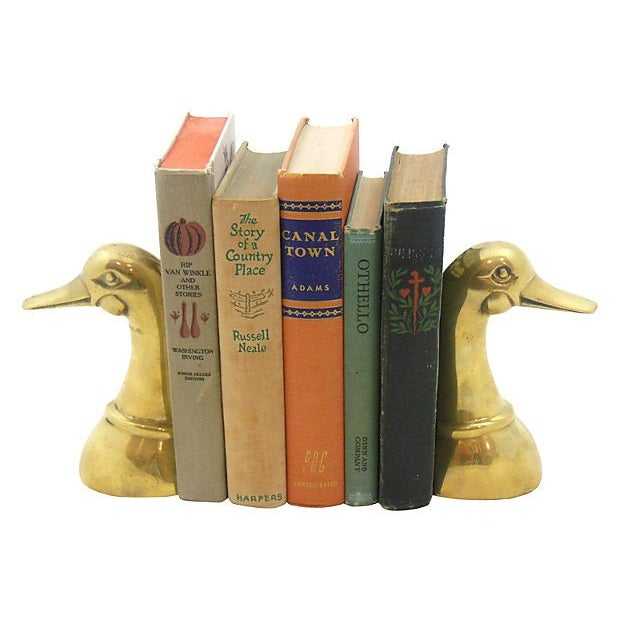 Image of Brass Duck Bookends