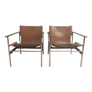 """Sling Chair"" by Charles Pollack for Knoll - Pair"