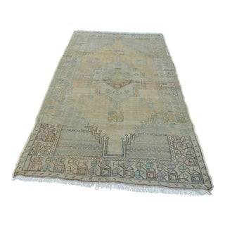 "Turkish Faded Anatolian Rug - 52"" x 94"""