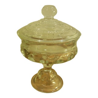 Indiana Glass Pedestal Compote