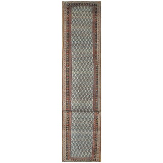 Surena Rugs Antique Handmade Persian Bidjar Runner - 3' x 16' 9''
