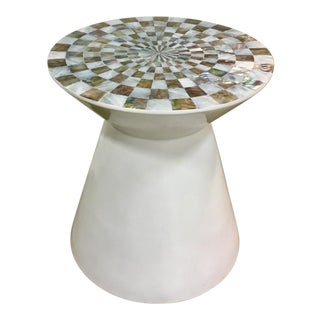 Abalone Top Accent Table