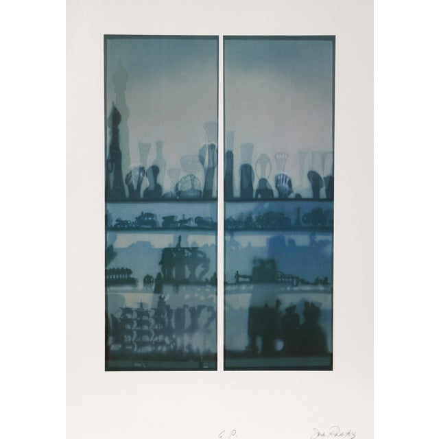 """Image of """"Window Shade"""" Lithograph by Jack Radetsky"""