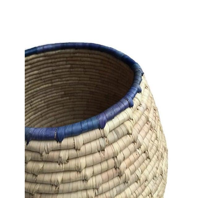 Image of Vintage Woven Cobra Basket Snake Charmer