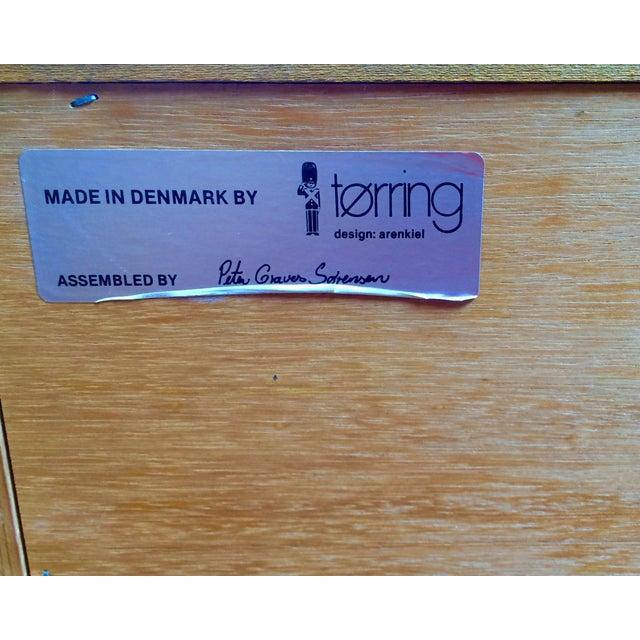 Danish Modern Teak Six-Drawer Dresser - Image 6 of 7