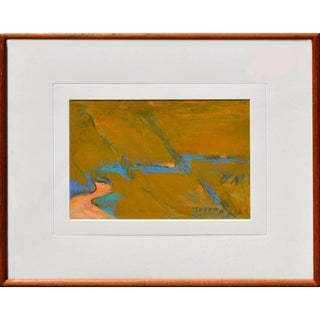 'Journey' Abstract Framed Painting