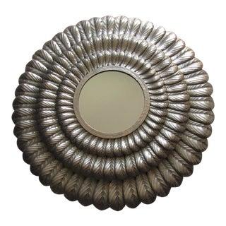 1950s Style Mid Century Gold Leaf Gilt Starburst Sunburst Mirror