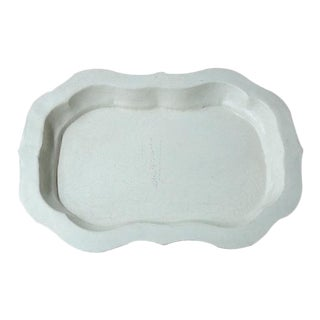 Lotus Leaf Shaped Tole Tray