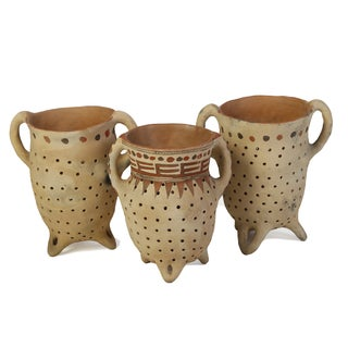 Mexican Clay Vases - Each