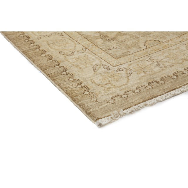 """Oushak Hand Knotted Runner - 2'9"""" X 9'9"""" - Image 2 of 3"""