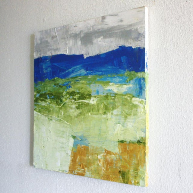 Paul Ashby Original Abstract Landscape Oil Painting - Image 2 of 2