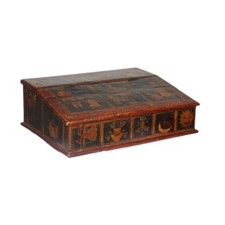 A 19th century Large Southern Indian Desk