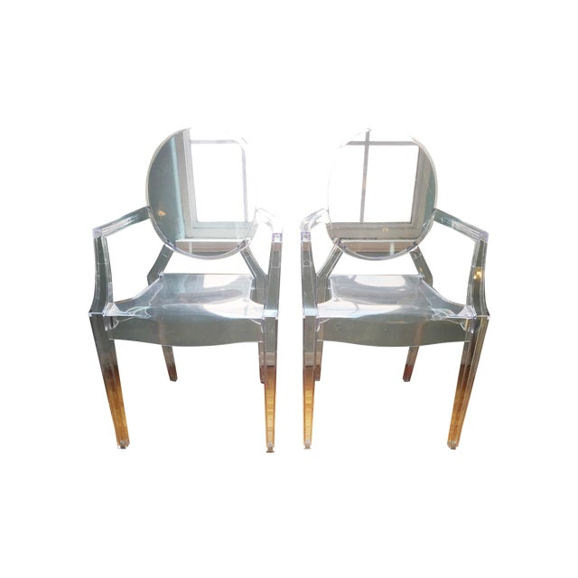 ModShop Replica Louis Ghost Chair - Pair - Image 1 of 4