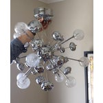 Image of Modern Silver Sputnik Pendant Light