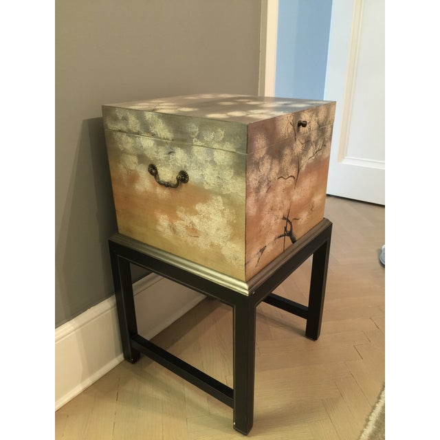 Horchow Painted File Box - Image 2 of 7