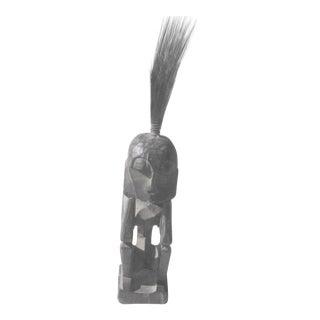 Vintage Wooden African Figure Statue