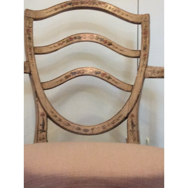 Image of Fine Hepplewhite Open Chair-Late 18th Century